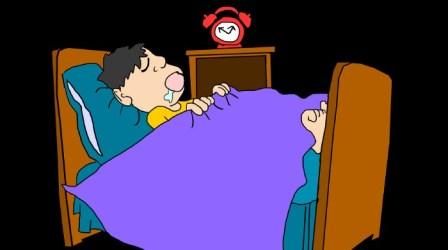 mouth sleep breathing sleeping cartoon through why snoring breathe causes during