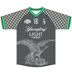 Yeungling Light Travel Camogie Jersey - Front