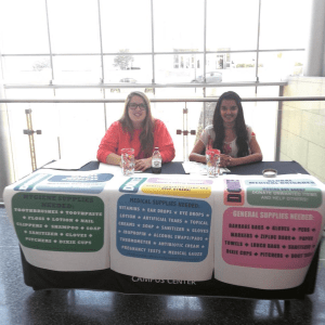 First time tabling at the IUPUI Campus Center!