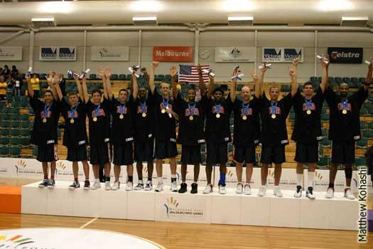 2005 Deaflympics Gold Medal team