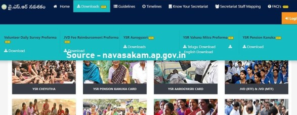 Pension Kanuka Telugu form