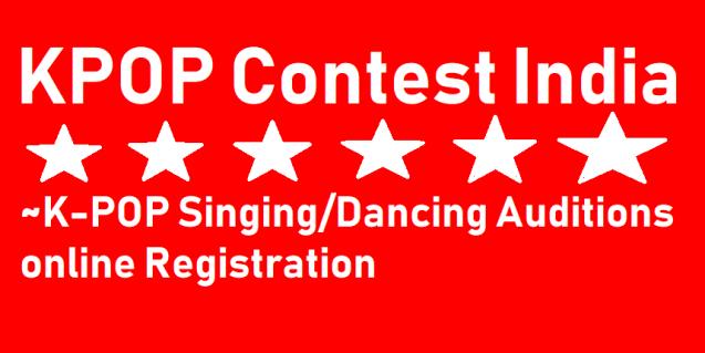 KPOP India Contest 2021 online