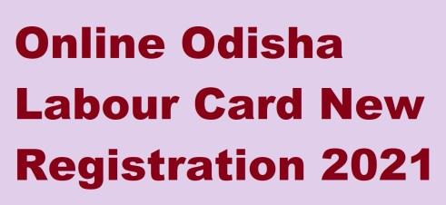 Odisha Labour Card Registration