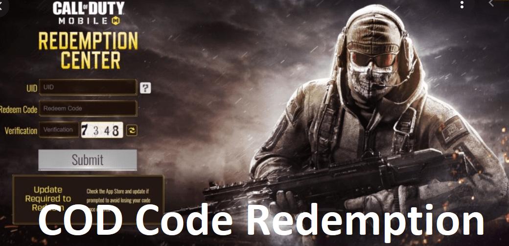 COD Code Redemption online