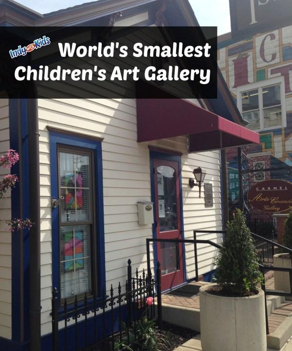 World Smallest Children Art Indy With Kids