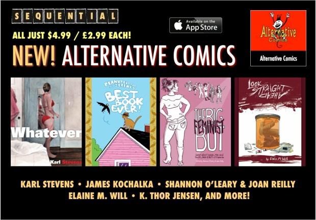 New Alternative Comics on iPad App Sequential