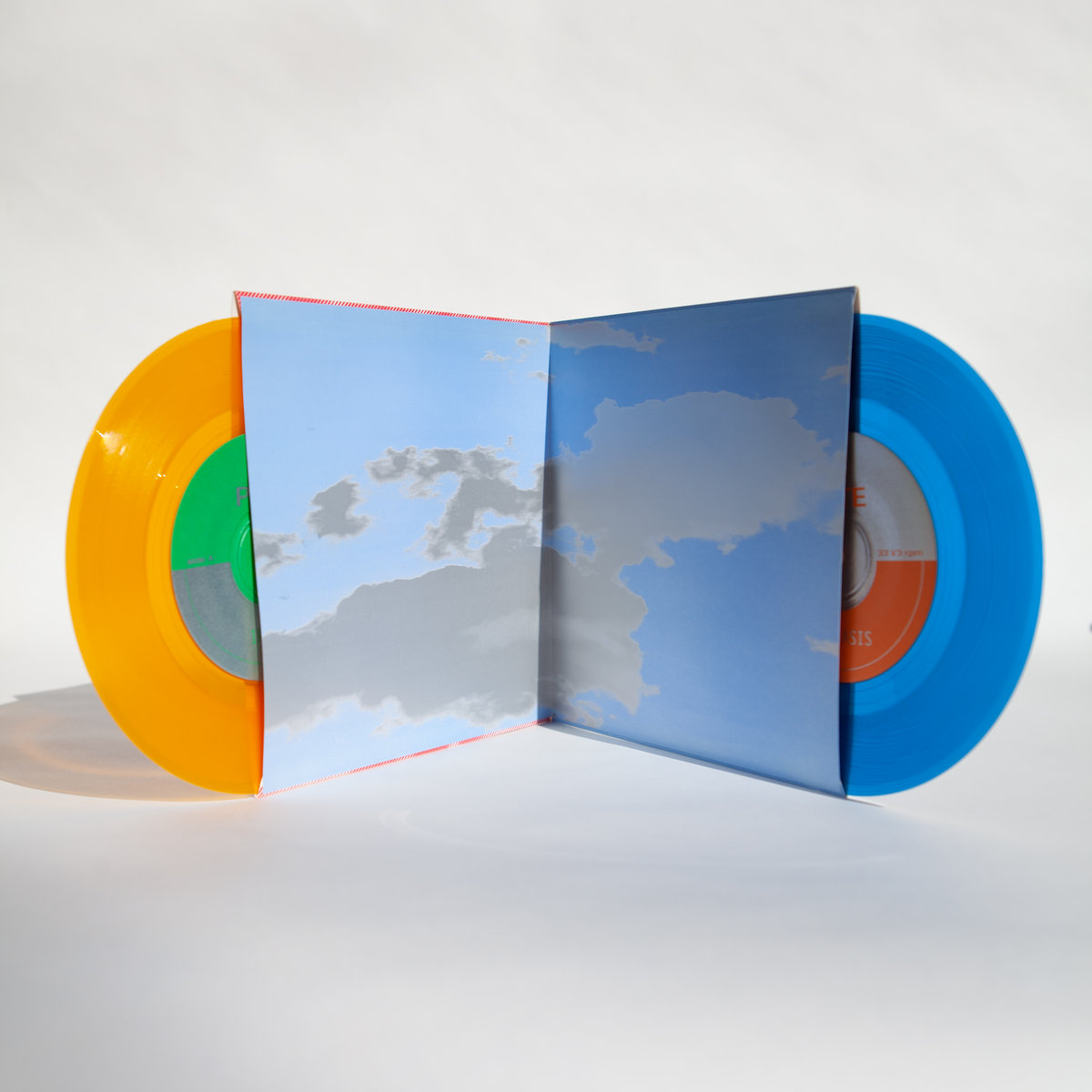 """Pete dual 7"""" on colored vinyl"""