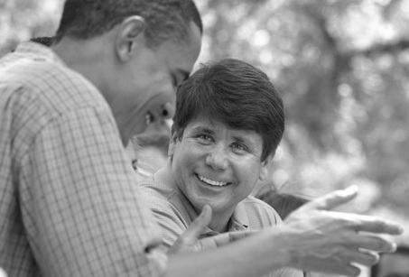 Obama and Blagojevich not discussing Senate seat