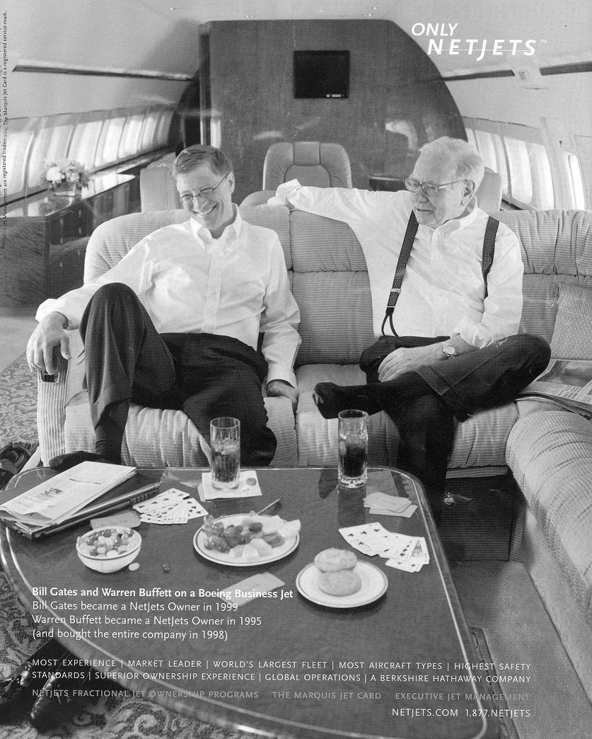 $$ Bill Gates & Warren Buffett $$