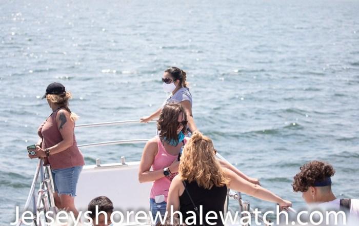 everyone enjoys a beautiful day on the ocean whale watching belmar marina