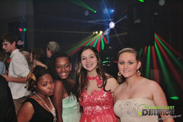 Clinch County High School Homecoming Dance 2014 Mobile DJ Services (199)