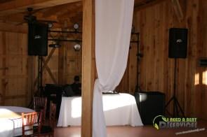 Tasha & Dalton Perry Wedding & Reception Twin Oaks Farms Mobile DJ Services (13)