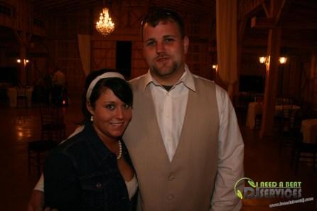 Tasha & Dalton Perry Wedding & Reception Twin Oaks Farms Mobile DJ Services (131)