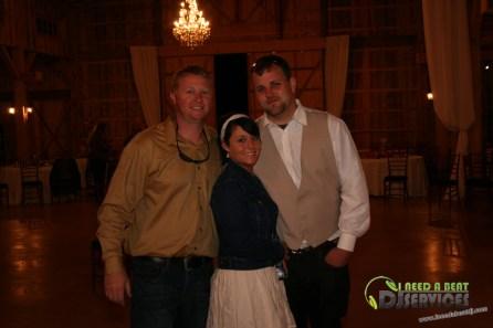 Tasha & Dalton Perry Wedding & Reception Twin Oaks Farms Mobile DJ Services (132)