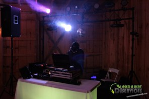 Tasha & Dalton Perry Wedding & Reception Twin Oaks Farms Mobile DJ Services (48)