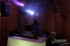 Tasha & Dalton Perry Wedding & Reception Twin Oaks Farms Mobile DJ Services (48)