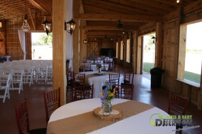 Tasha & Dalton Perry Wedding & Reception Twin Oaks Farms Mobile DJ Services (6)