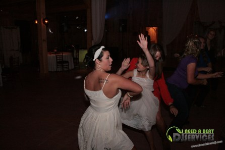 Tasha & Dalton Perry Wedding & Reception Twin Oaks Farms Mobile DJ Services (65)