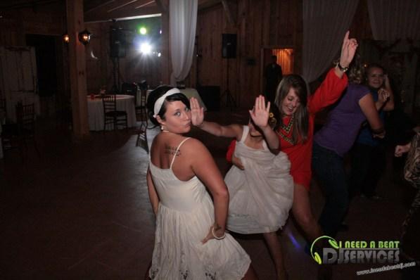 Tasha & Dalton Perry Wedding & Reception Twin Oaks Farms Mobile DJ Services (67)