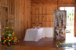 Tasha & Dalton Perry Wedding & Reception Twin Oaks Farms Mobile DJ Services (7)