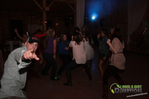 Tasha & Dalton Perry Wedding & Reception Twin Oaks Farms Mobile DJ Services (78)