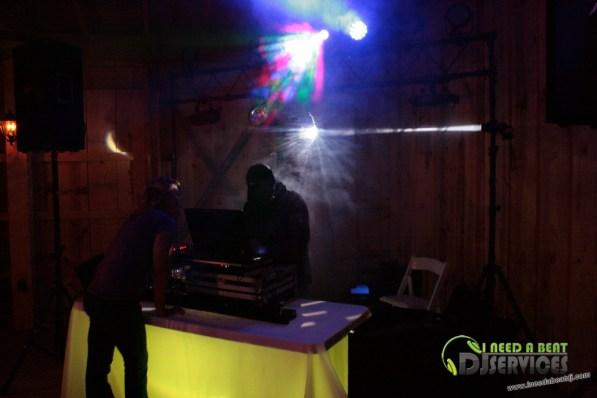 Tasha & Dalton Perry Wedding & Reception Twin Oaks Farms Mobile DJ Services (86)