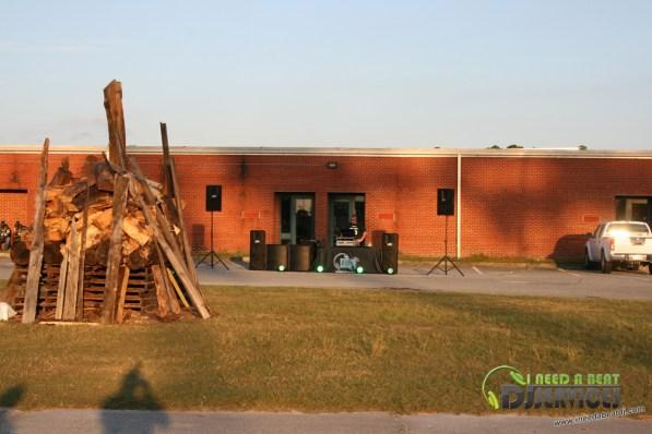 Ware County High School Homecoming Bonfire Pep Rally Mobile DJ Services (20)