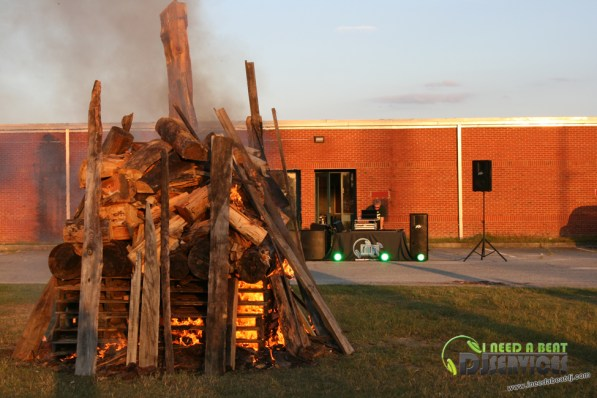 Ware County High School Homecoming Bonfire Pep Rally Mobile DJ Services (23)