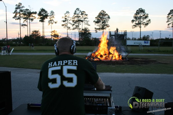 Ware County High School Homecoming Bonfire Pep Rally Mobile DJ Services (31)