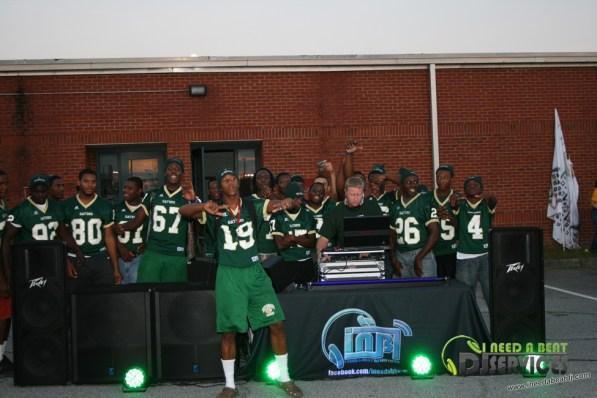 Ware County High School Homecoming Bonfire Pep Rally Mobile DJ Services (45)