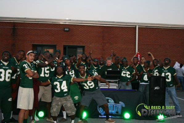 Ware County High School Homecoming Bonfire Pep Rally Mobile DJ Services (53)