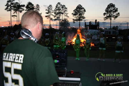Ware County High School Homecoming Bonfire Pep Rally Mobile DJ Services (55)