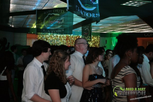 Ware County High School Homecoming Dance 2013 Mobile DJ Services (350)
