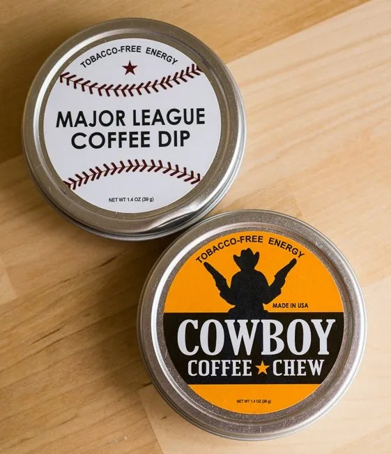 Chew Coffee Major League Coffee Dip and Cowboy Coffee Chew
