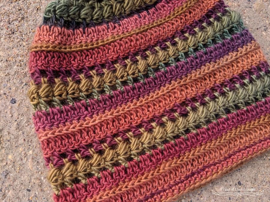 The Bauble Slouch Hat - Free Crochet Pattern