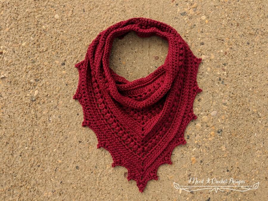 Bauble Bandana Cowl - Free Crochet Pattern