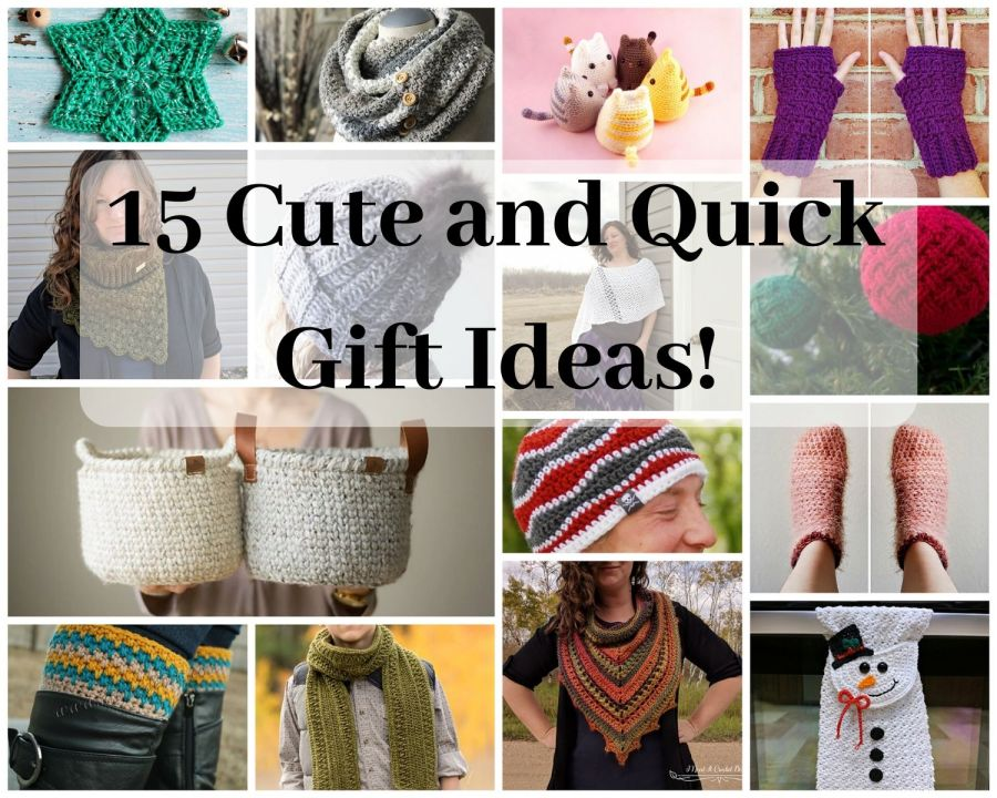 15 Cute and Quick Gift Ideas!