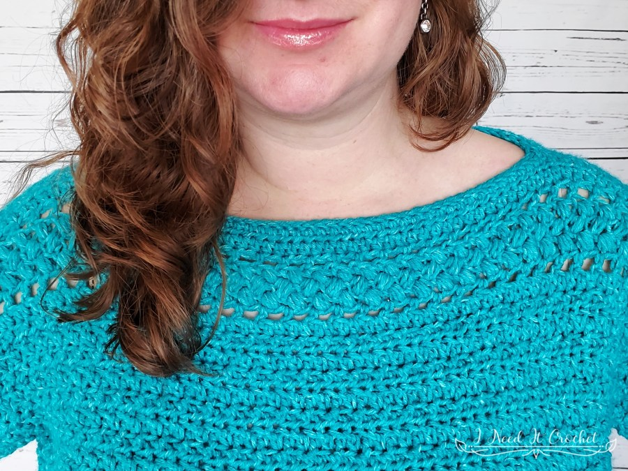 The Aspirations Pullover - Free Crochet Pattern