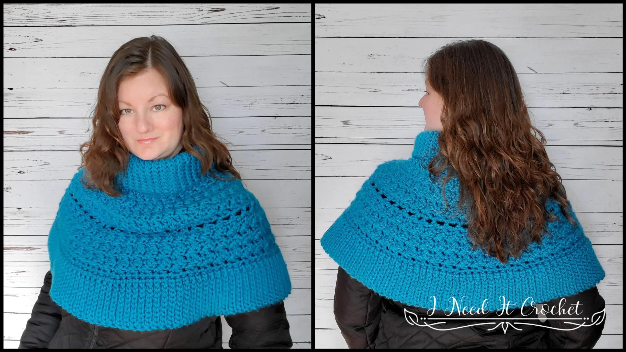 Dead of Winter Capelet - Free Crochet Pattern