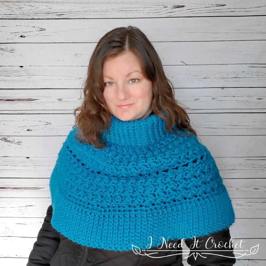 The Dead of Winter Capelet - Free Crochet Pattern