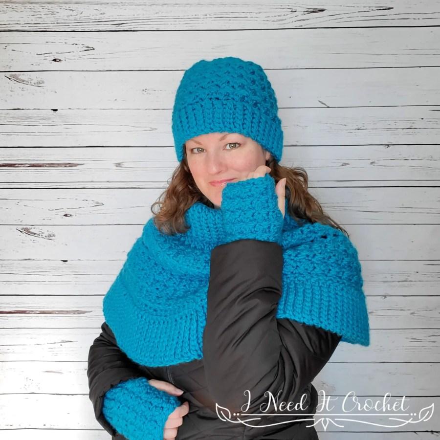 The Dead of Winter Gloves - Free Crochet Pattern