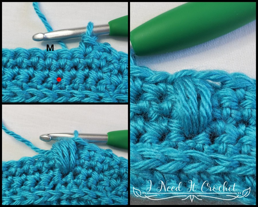 Puff Stitch Tutorial for Spring Blooms