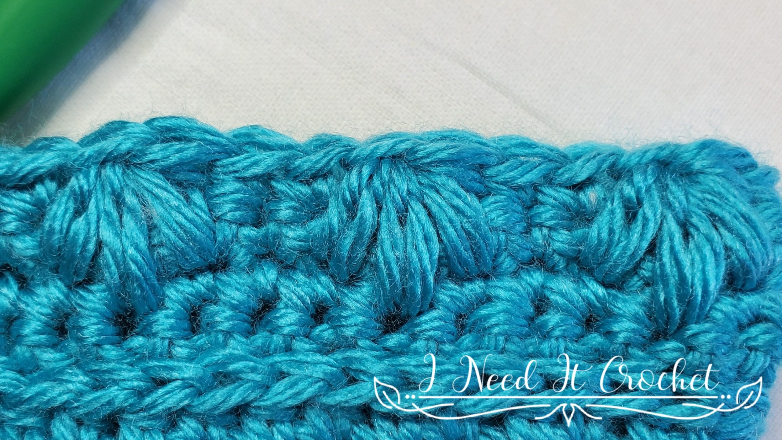 Flower Puff Stitch for Spring Blooms