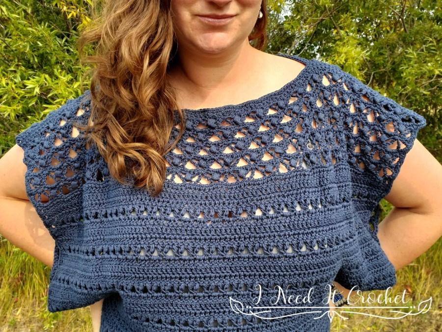 The Crossroads Sweater - Free Crochet Pattern