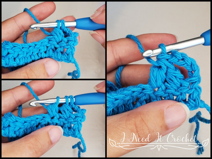 The Forked Cluster - Crochet Stitch Tutorial
