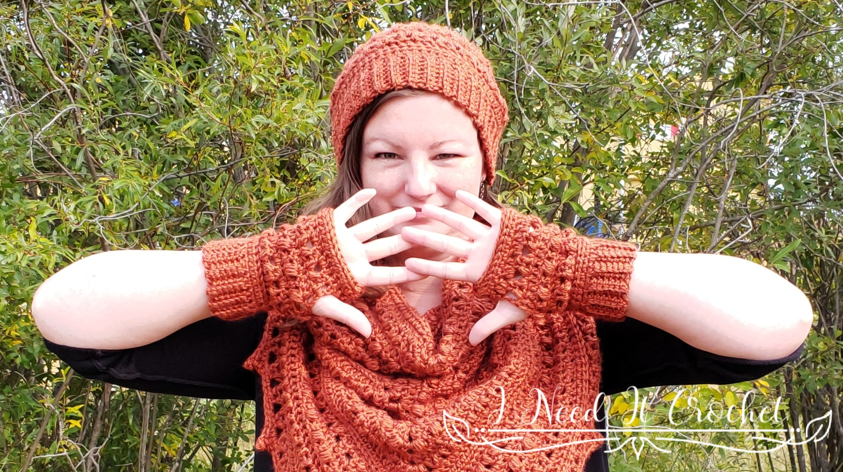 Puffs N Picots Gloves - Free Crochet Pattern
