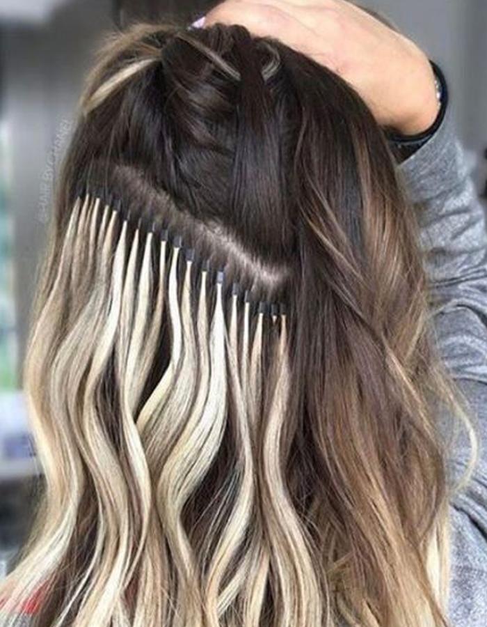 Micro Extensions Pasadena. Los Angeles | Curly Hair Salon Los Angeles
