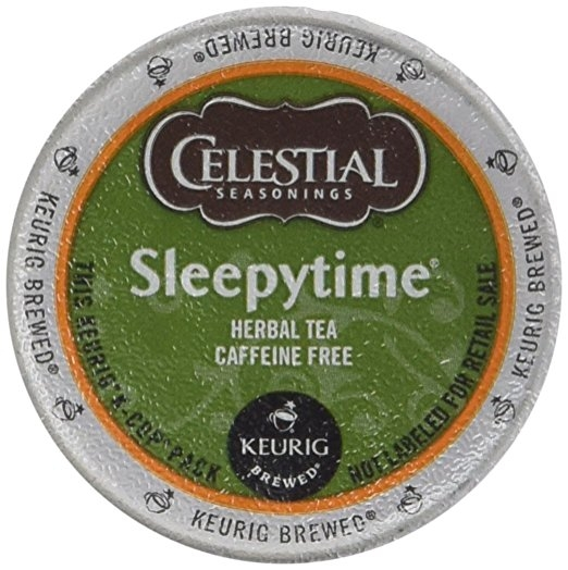 Celestial Seasonings Sleepytime Herbal Tea K Cup Celestial Seasonings Sleepytime Herbal Tea K Cup 48 Count Case for Keurig Brewers.