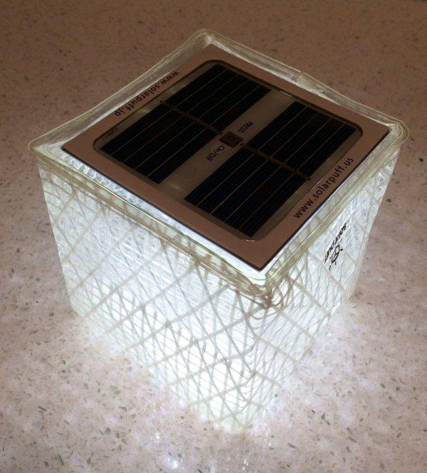 Solight Solarpuff Portable Compact LED Solar Lantern Solight Solarpuff Portable Compact LED Solar Lantern.