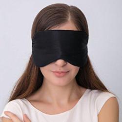 ALASKA BEAR Natural silk sleep mask & blindfold  ALASKA BEAR Natural silk sleep mask & blindfold, super-smooth eye mask (One Strap).